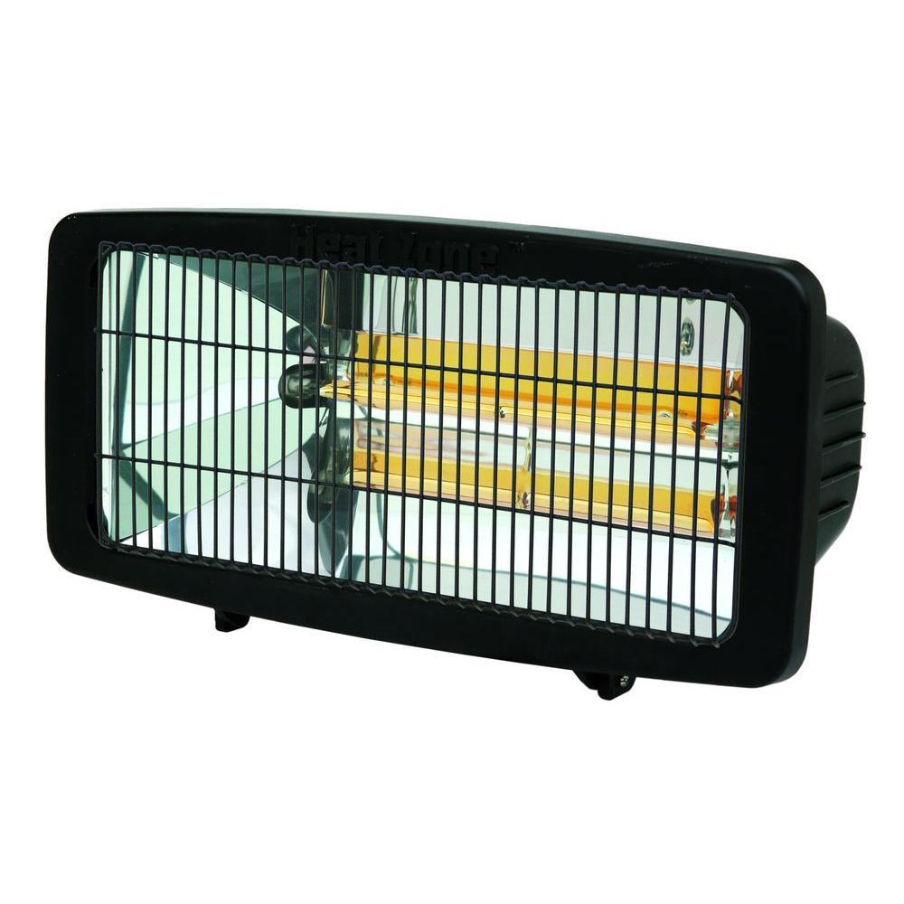 Designers Edge 1200 Watt Heat Lamp Patio Heater H12000 The Home Depot