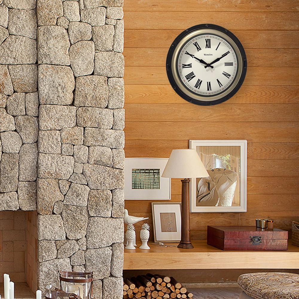 15.75 in. Nautical Wall Clock