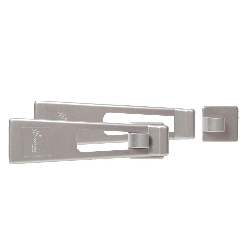 Refrigerator Latch Silver Style (2-Pack)