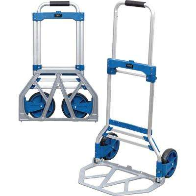Folding Dockhand Cart/Dolly, White