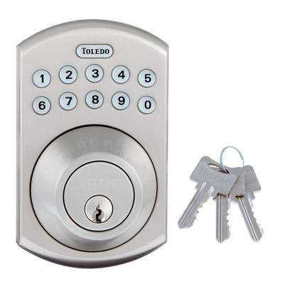 Stainless Steel Bluetooth Electronic Deadbolt Single Cylinder
