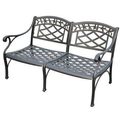 Sedona Cast Aluminum Outdoor Loveseat