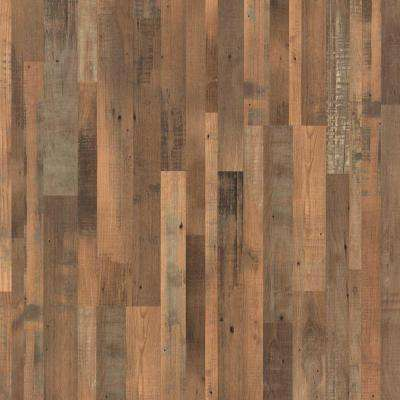 XP Reclaimed Elm 8 mm Thick x 7-1/4 in. Wide x 47-1/4 in. Length Laminate Flooring (19.63 sq. ft. / case)