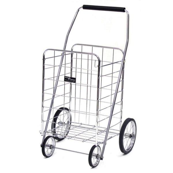 Jumbo Shopping Cart in Elite Chrome
