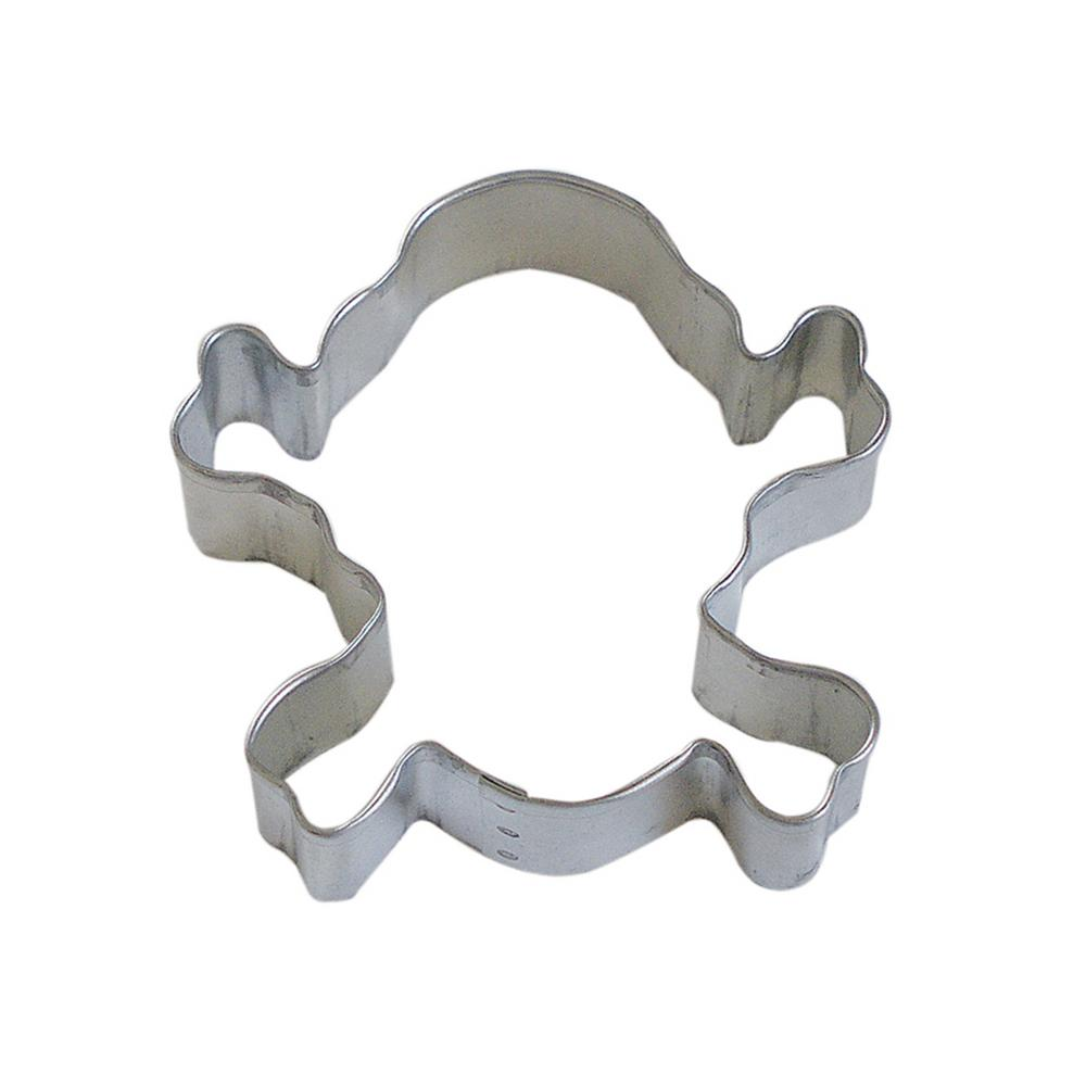 3217cf75c055 12-Piece Skull  Crossbones 3.5 in. Tinplate Steel Cookie Cutter   Recipe