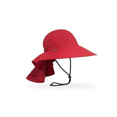 Women's One Size Fits All Cardinal Sundancer Hat with Neck Cape