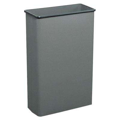 22 Gal. Gray Rectangular Large Capacity Trash Can