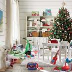 5-Piece White Children's Table and Chair Set