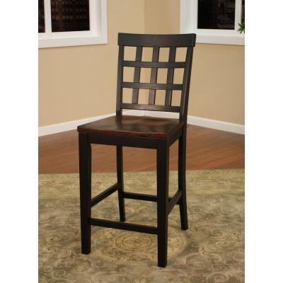 Mia 25 in. Suede Bar Stool (Set of 2)