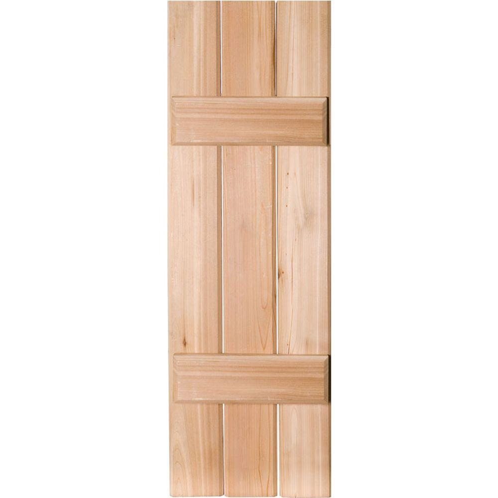 12 in. x 30 in. Exterior Real Wood Sapele Mahogany Board