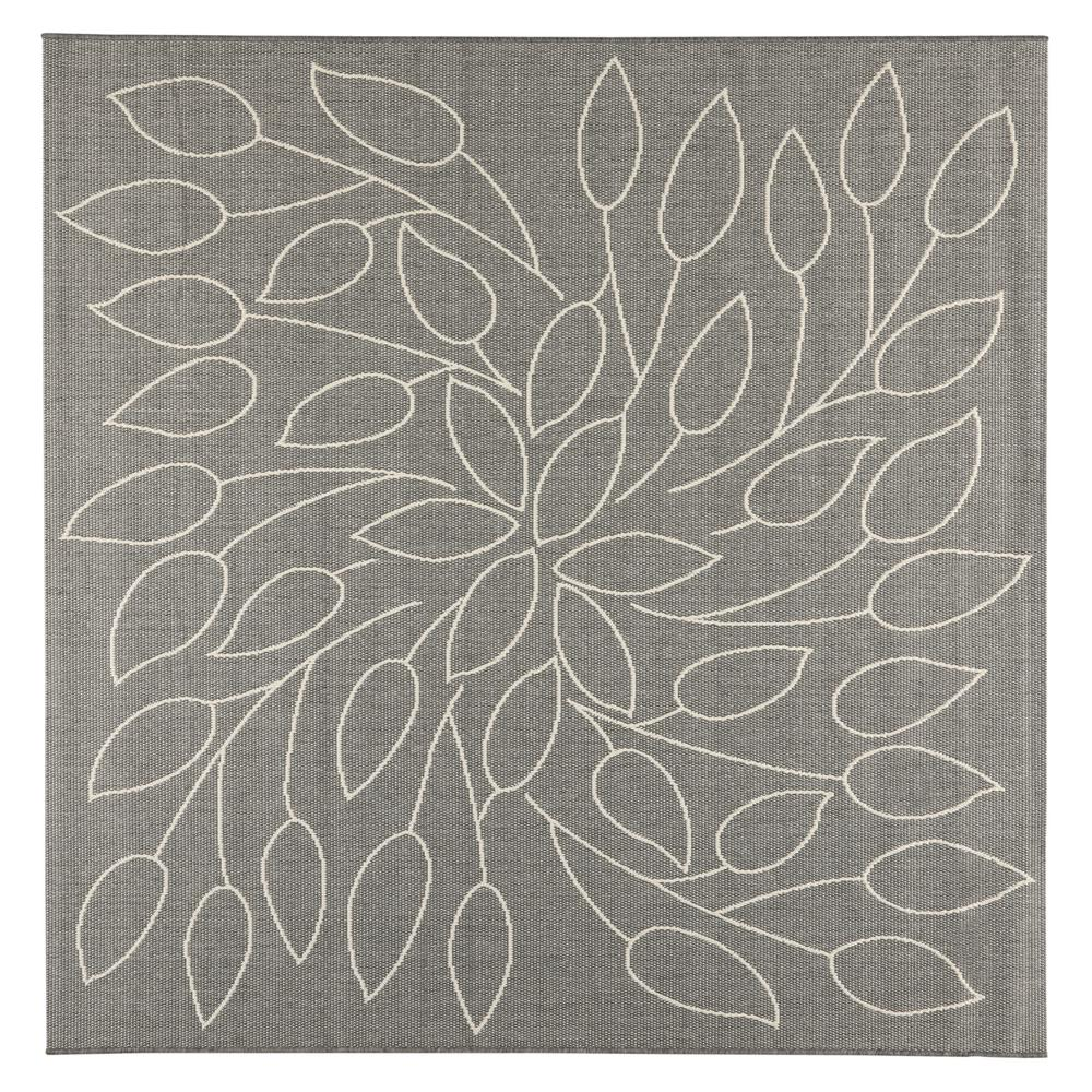 Home decorators collection persimmon grey champagne 7 ft for Home decorators indoor outdoor rugs
