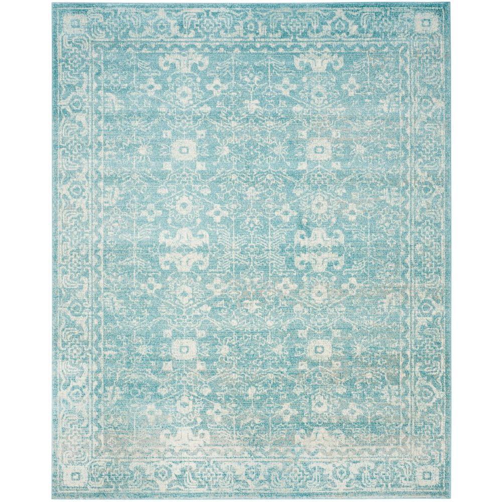 Safavieh Evoke Light Blue Ivory 8 Ft X