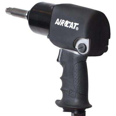 1/2 in. x 2 in. Extended Anvil Aluminum Twin Hammer Impact Wrench