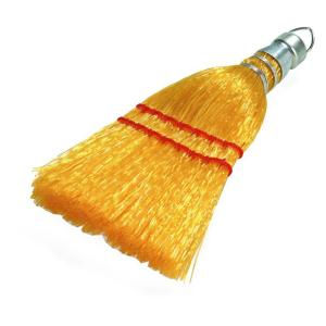 Carlisle 9 inch Sew Synthetic Corn Whisk Broom (Case of 12) by Carlisle
