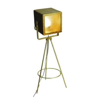 Portable Lamps Series 49 in. Brass Plated Floor Lamp