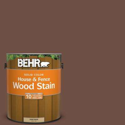 1 gal. #PPU3-19 Moroccan Henna Solid House and Fence Wood Stain