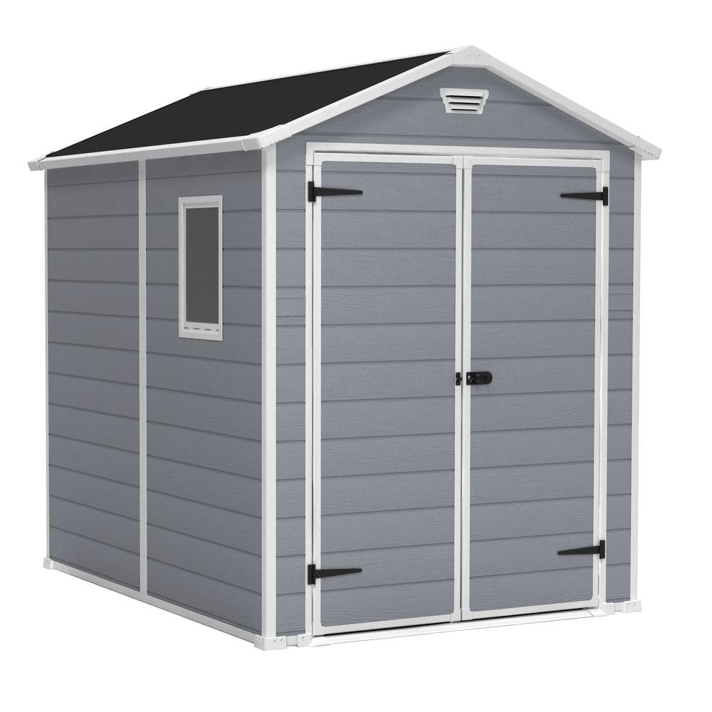 keter manor 6 ft x 8 ft outdoor storage shed