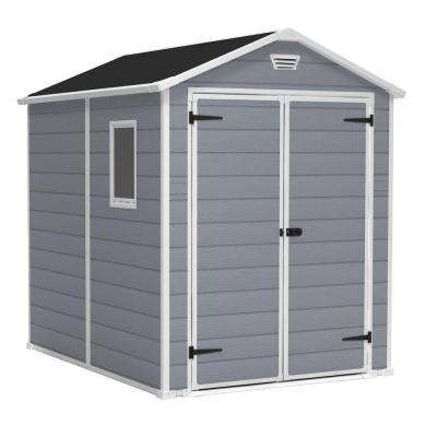 Manor 6 ft. x 8 ft. Outdoor Storage Shed