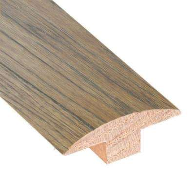 Hickory Sepia 3/4 in. Thick x 2 in. Wide x 78 in. Length Hardwood T-Molding