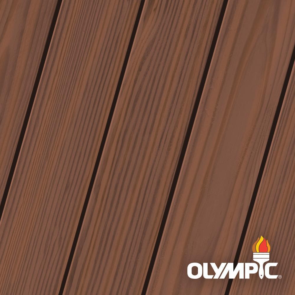 Olympic Maximum 5 Gal Dark Mahogany Semi Transparent