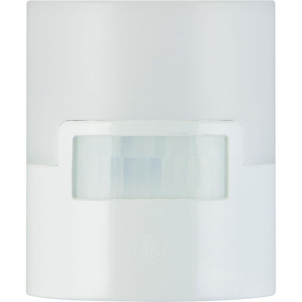 Motion Activated LED Night Light, White
