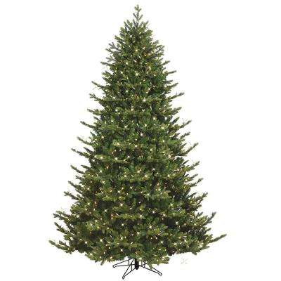 7.5 ft. Just Cut Canadian One Plug Tree - Warm White Led