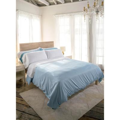 Siesta 3-Piece Snow Cotton Twin Sheet Set