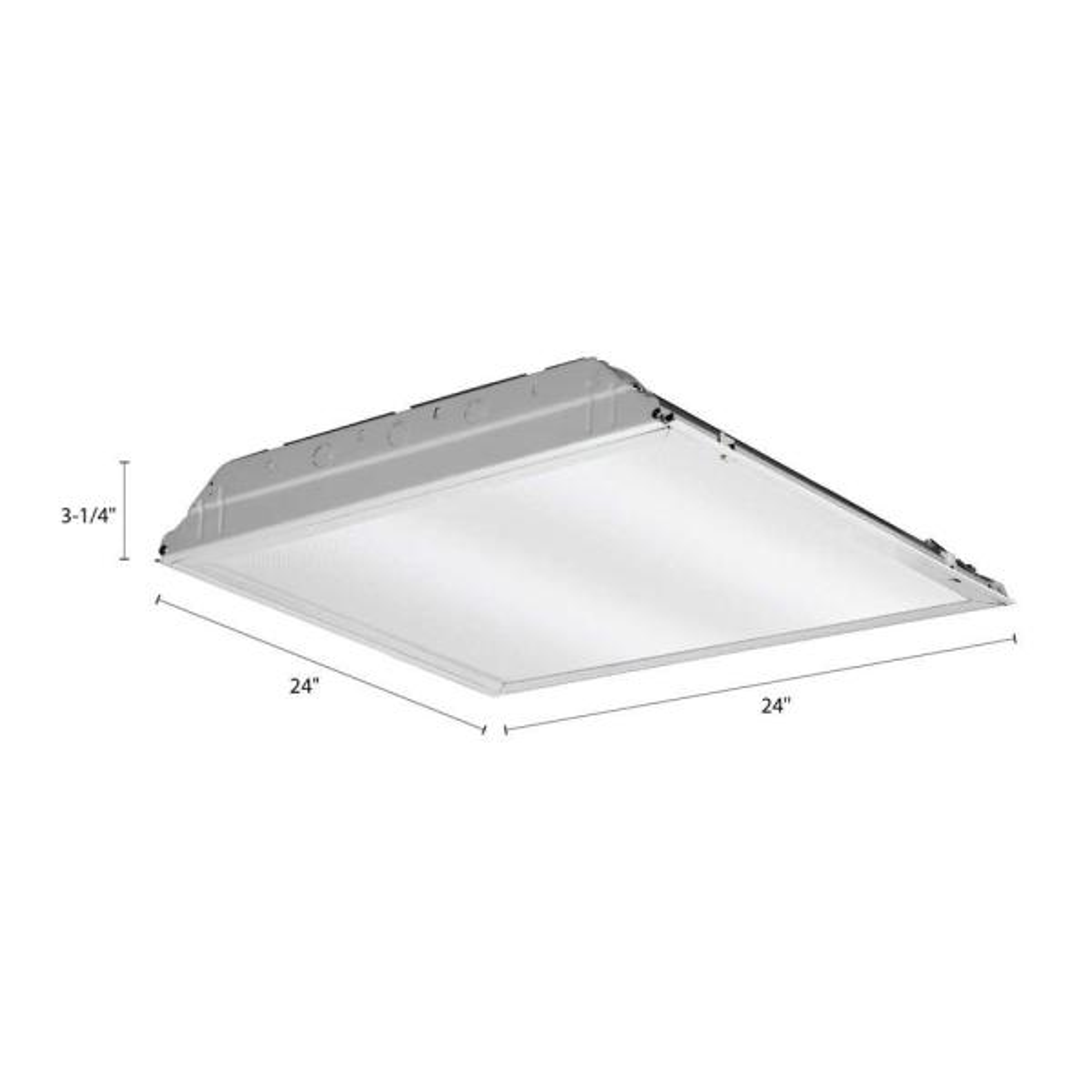 "Lot 2 Commercial 6/"" LED Down Light High Lumen LED Dimming Recessed 120-277V 4500"