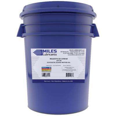 Milesyn SB 10W40 API GF-5/SN 5 Gal. Synthetic Blend Motor Oil Pail
