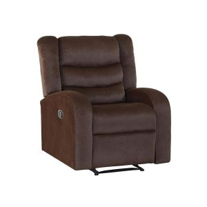 Deals on Steve Silver Madeline Brown Recliner