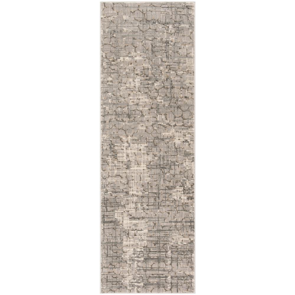 Meadow Gray 2 ft. 7 in. x 8 ft. Runner