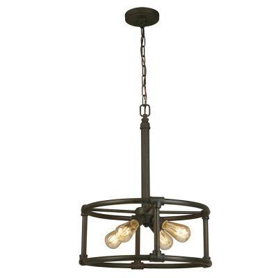 Wymer 4-Light Matte Bronze Pendant