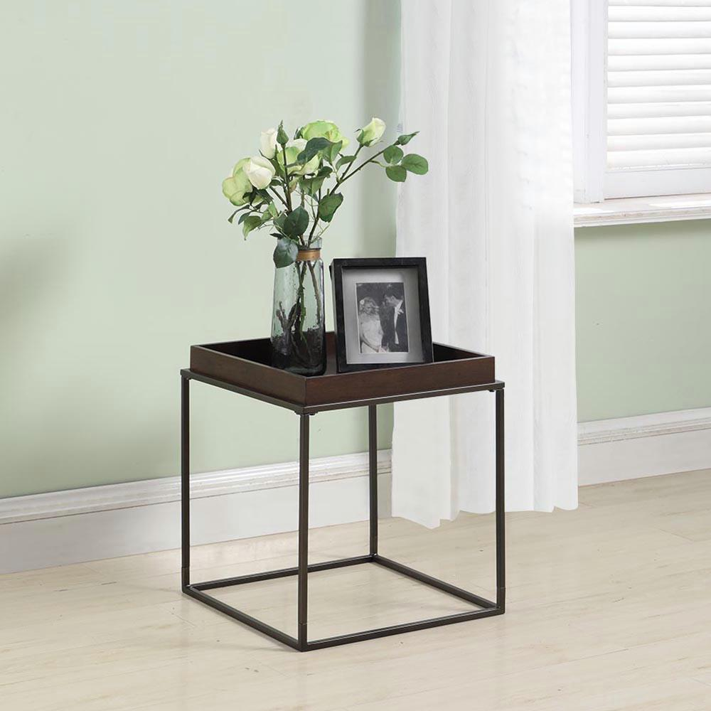 Delicieux Z Line Designs Arlo Brown Stacking Table