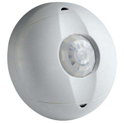 Commercial Grade Passive Infrared 0450 sq. ft. 360-Degree Ceiling Mount Occupancy Sensor, Off White