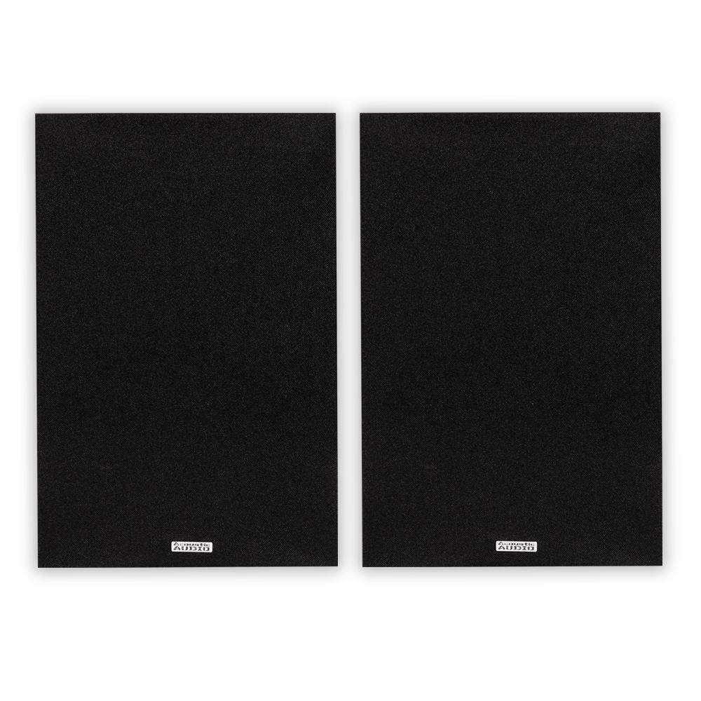150-Watt Bookshelf Speaker Pair, Black