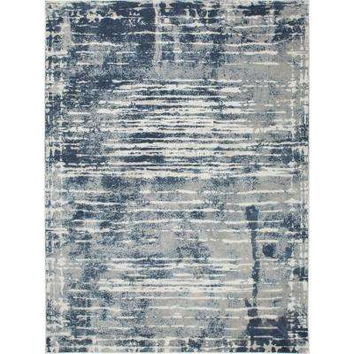 Kenmare Sheena Blue 5 ft. 3 in. x 7 ft. 2 in. Indoor Area Rug