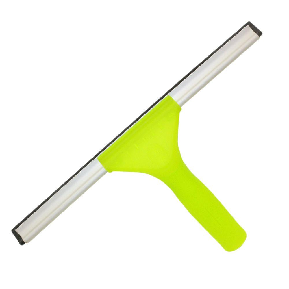 Total-Reach 12 in. Window Squeegee Plastic Handle with Connect and Clean Locking System
