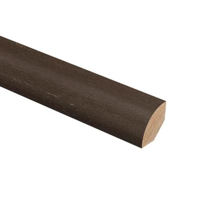 Strand Woven Bamboo Sage 3/4 in. Thick x 3/4 in. Wide x 94 in. Length Hardwood Quarter Round Molding