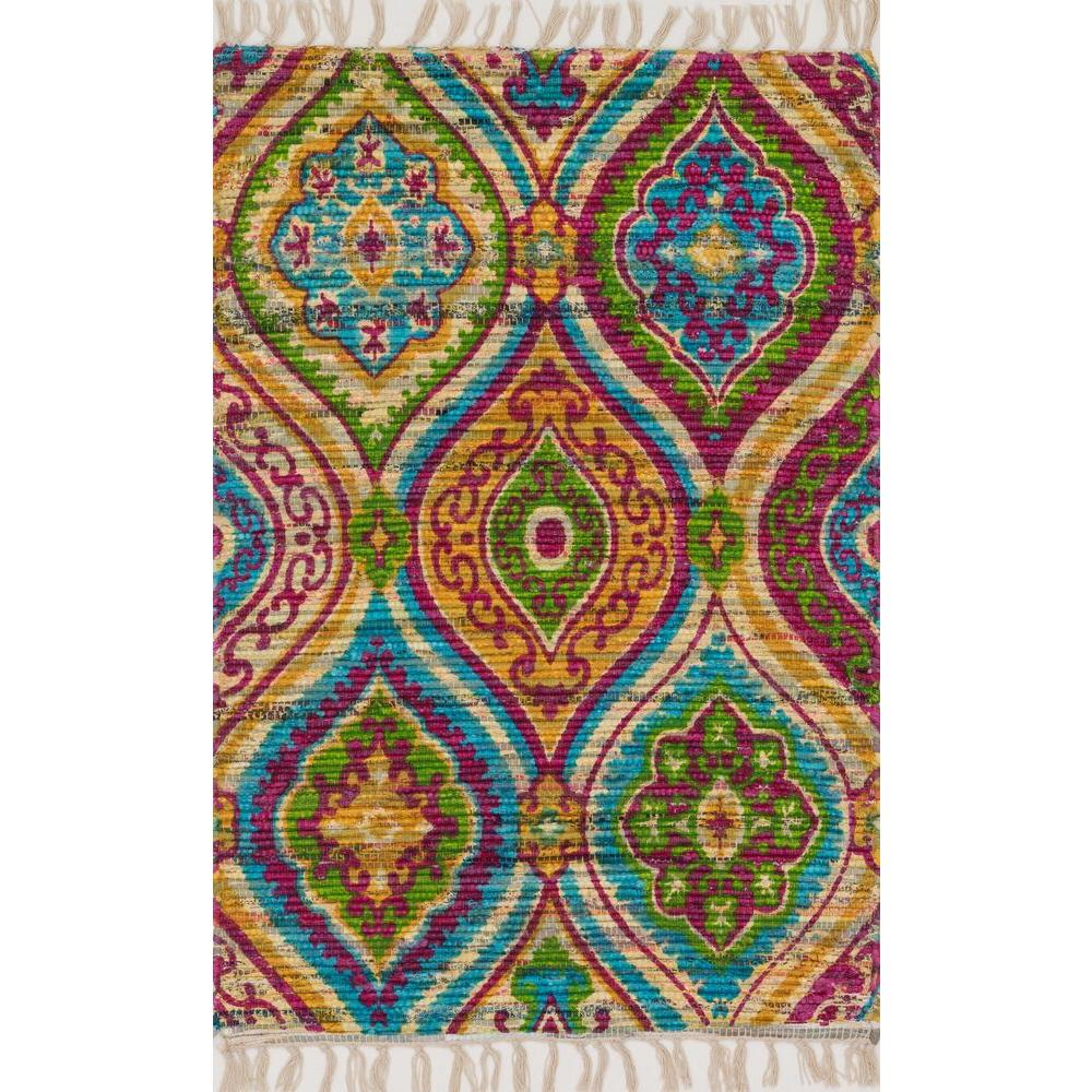 Loloi Rugs Aria Lifestyle Collection Multi 2 ft. 3 in. x 3 ft. 9 in. Area Rug