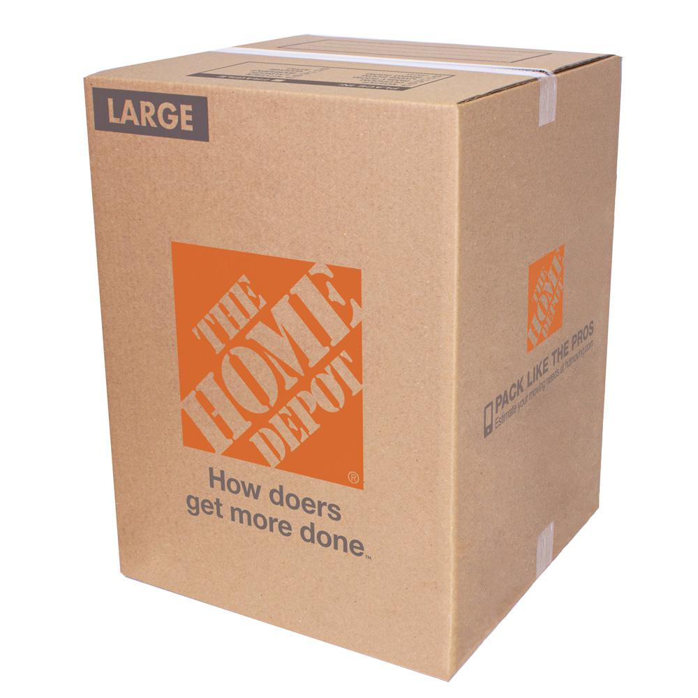 18 in. L x 18 in. W x 24 in. D Large Moving Box