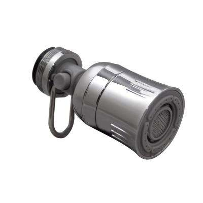1.5 GPM Dual Spray with Pause Swivel Kitchen Faucet Aerator in Chrome