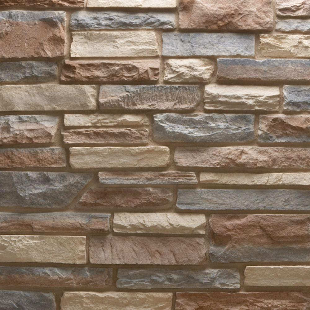 Pacific Ledge Stone Bristol Flats 10 sq. ft. Handy Pack Manufactured