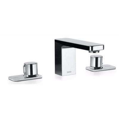 Kiwami Renesse 8 in. Widespread 2-Handle Bathroom Faucet with Pop-Up Drain in Polished Chrome