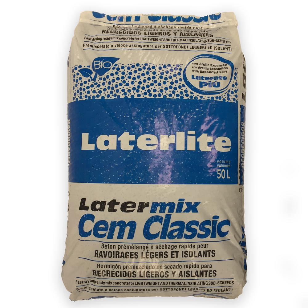 50 l Cem Classic Quick-Drying Lightweight Insulating Permeable Concrete Bag