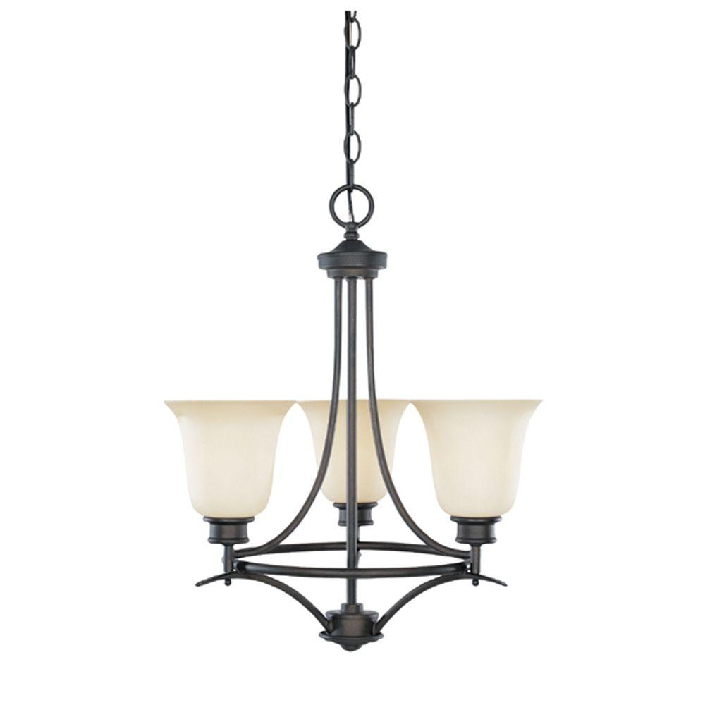 Designers Fountain Montreal 3-Light Oil Rubbed Bronze