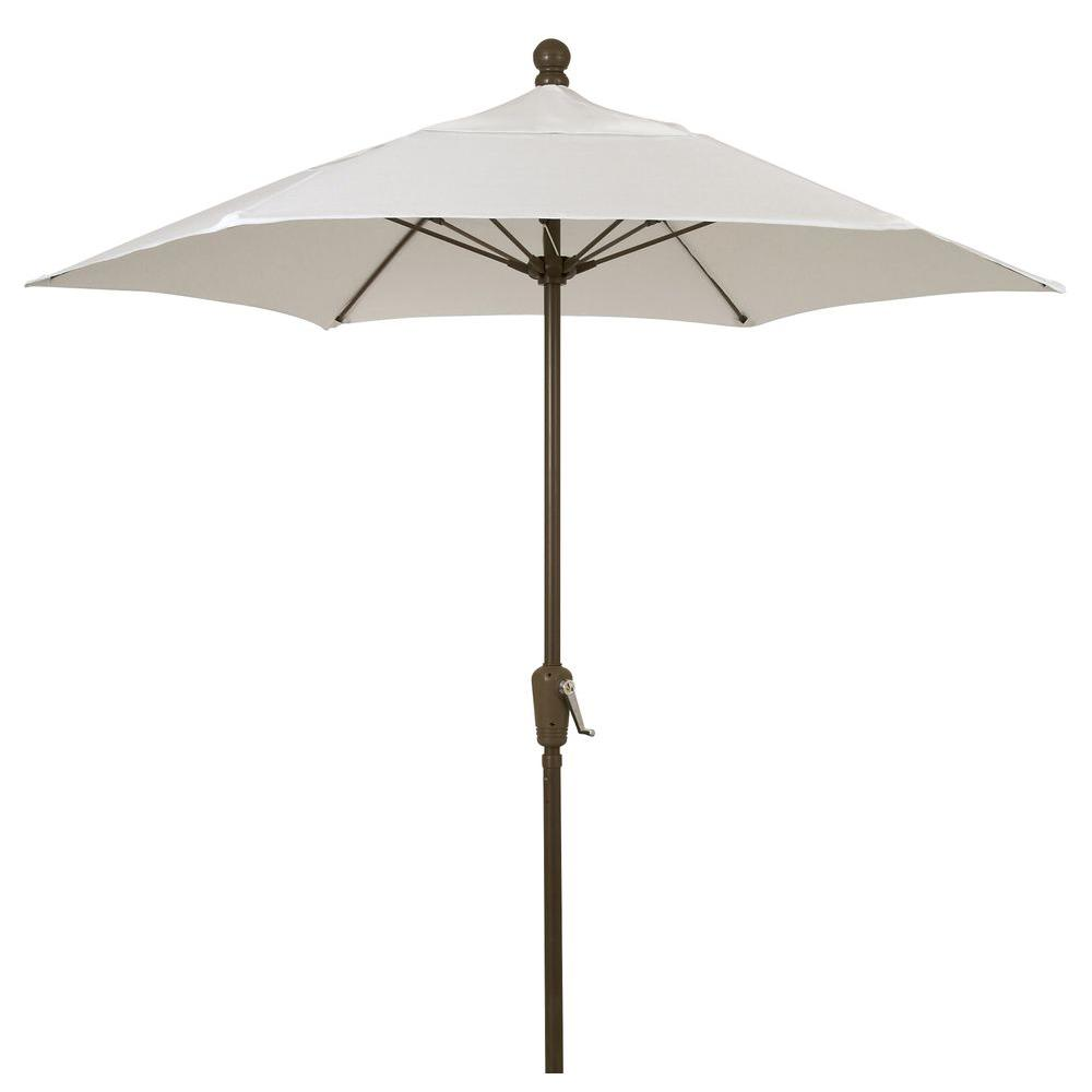 Perfect 11 Ft. Oct Patio Lucaya Umbrella 8 Rib Pulley Pin Bright