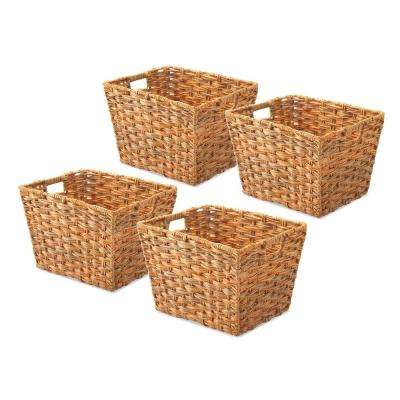 0.2 Gal. Water Hyacinth Storage Tote (Set of 4)