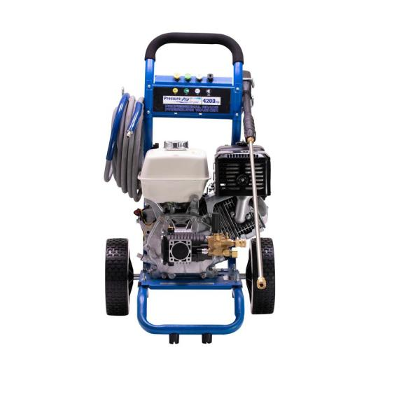 Dirt Laser 4200 PSI 4.0 GPM Cold Water Gas Pressure Washer with Honda GX390 Engine