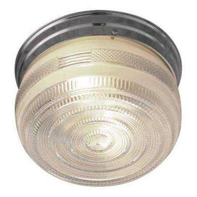 Peppiatt 2-Light Polished Chrome Flush Mount