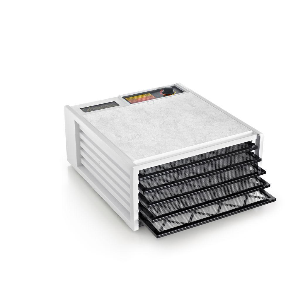 Excalibur 5-Tray Food Dehydrator, White